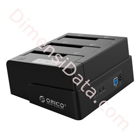 Jual HDD Docking Station ORICO 3 Bay [6638US3-C]